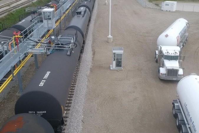 Rising Demands for Propane Railcar Terminals