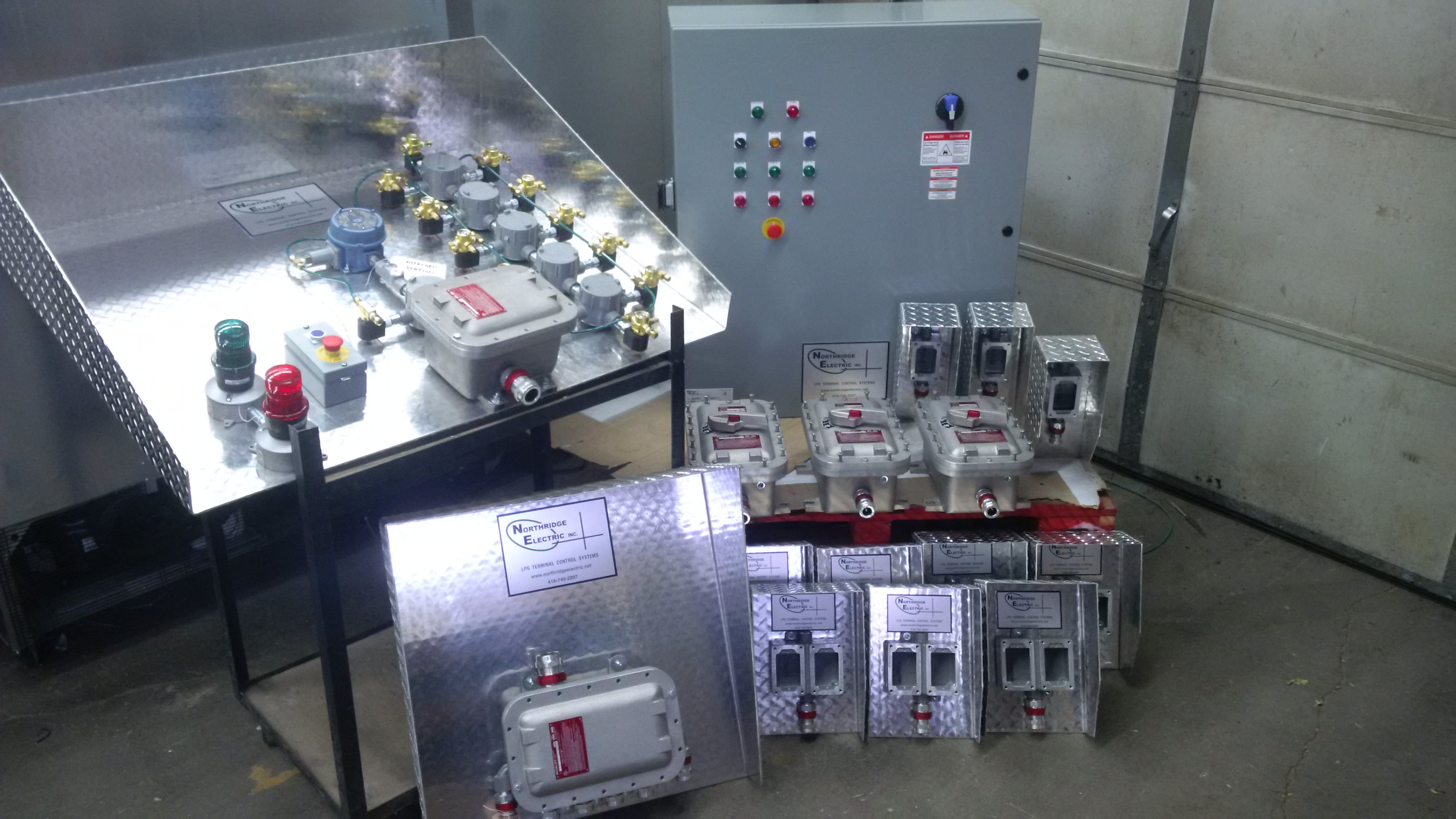 Preassembled Control System - Whitehorse YT