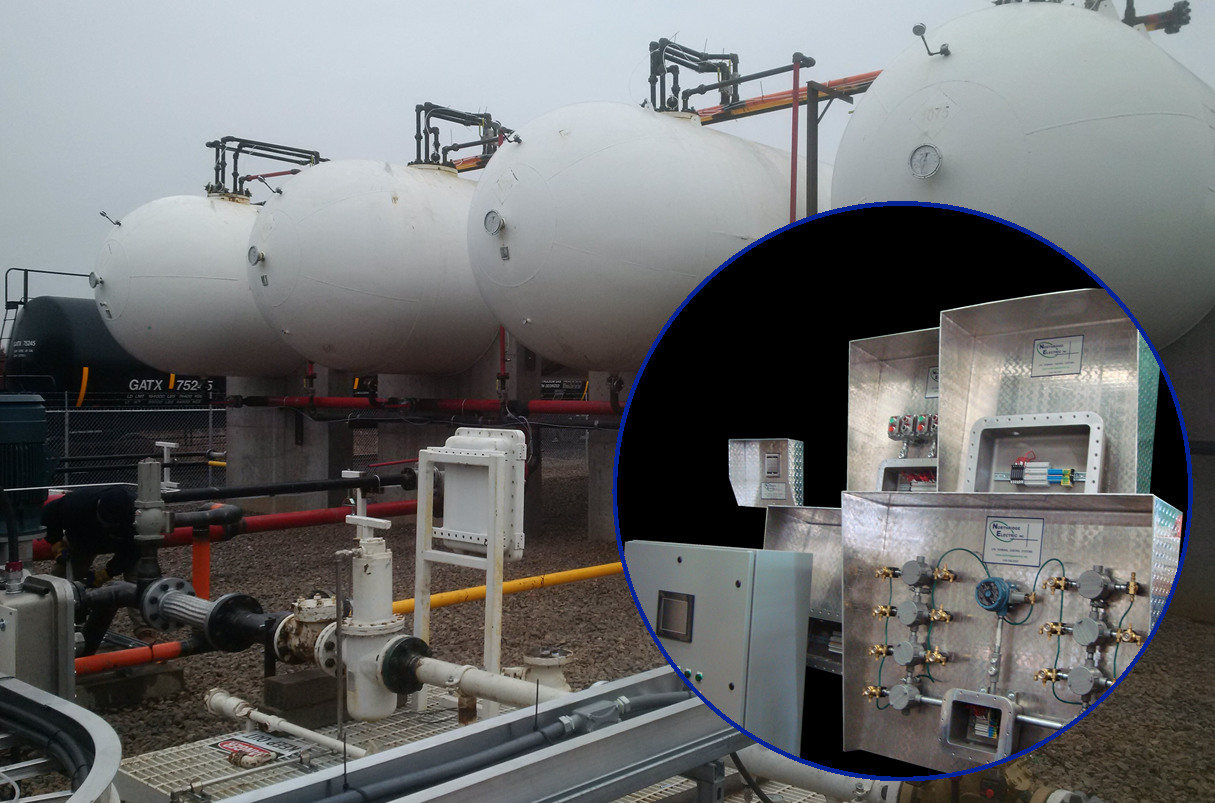 Preassembled LPG Terminal Control System - Proctor MN