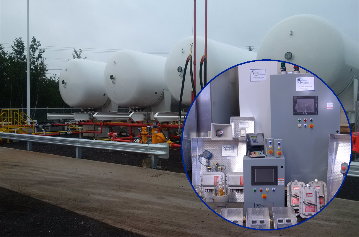 Preassembled LPG Terminal Control System - Moncton NB