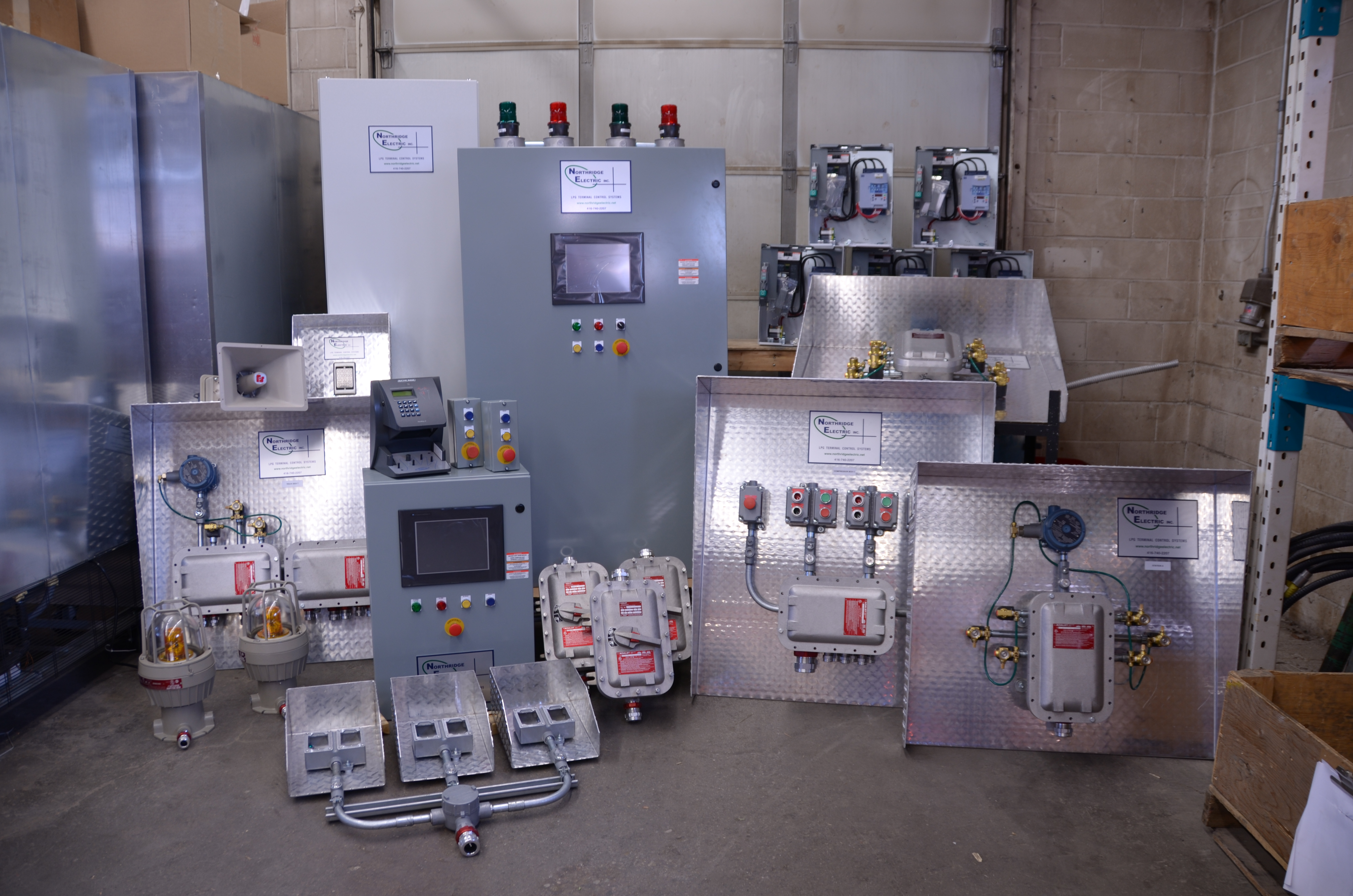 Preassembled Terminal Control System - Proctor MN
