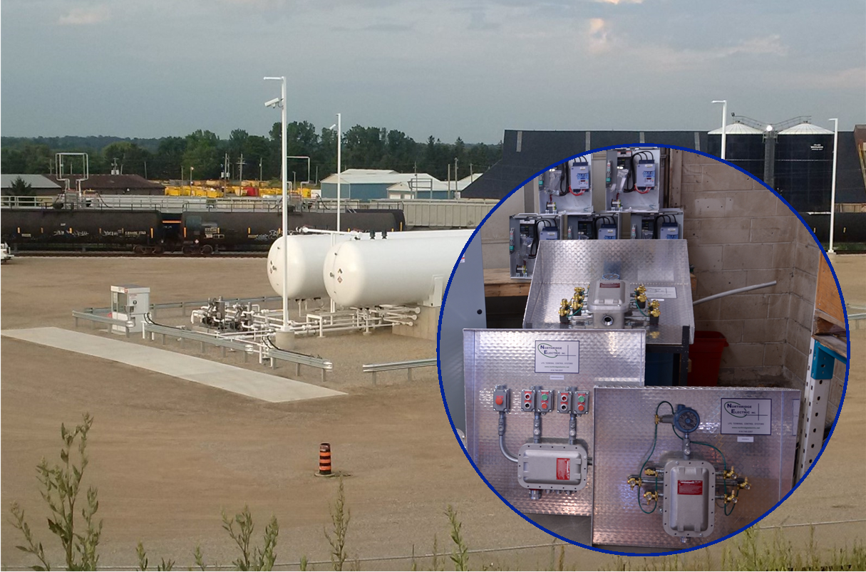 Preassembled LPG Terminal Control System - Putnam ON